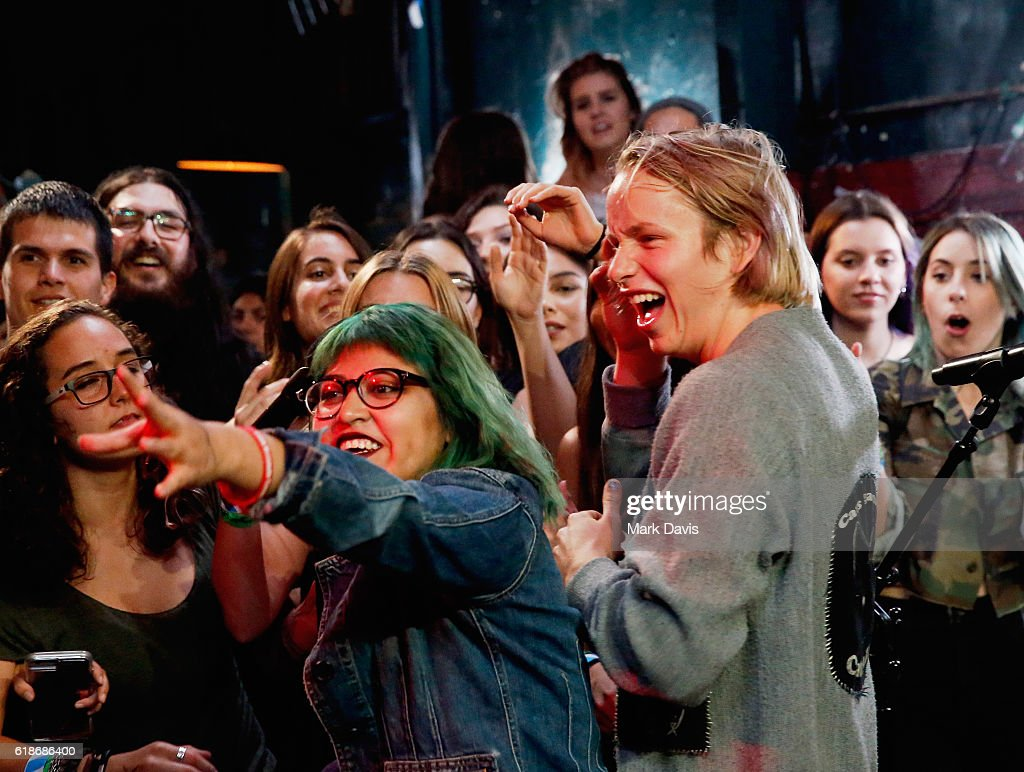 Musician Cole Becker of SWMRS performs onstage at MTV's 'Wonderland' LIVE Show on October 27, 2016 in Los Angeles, California.