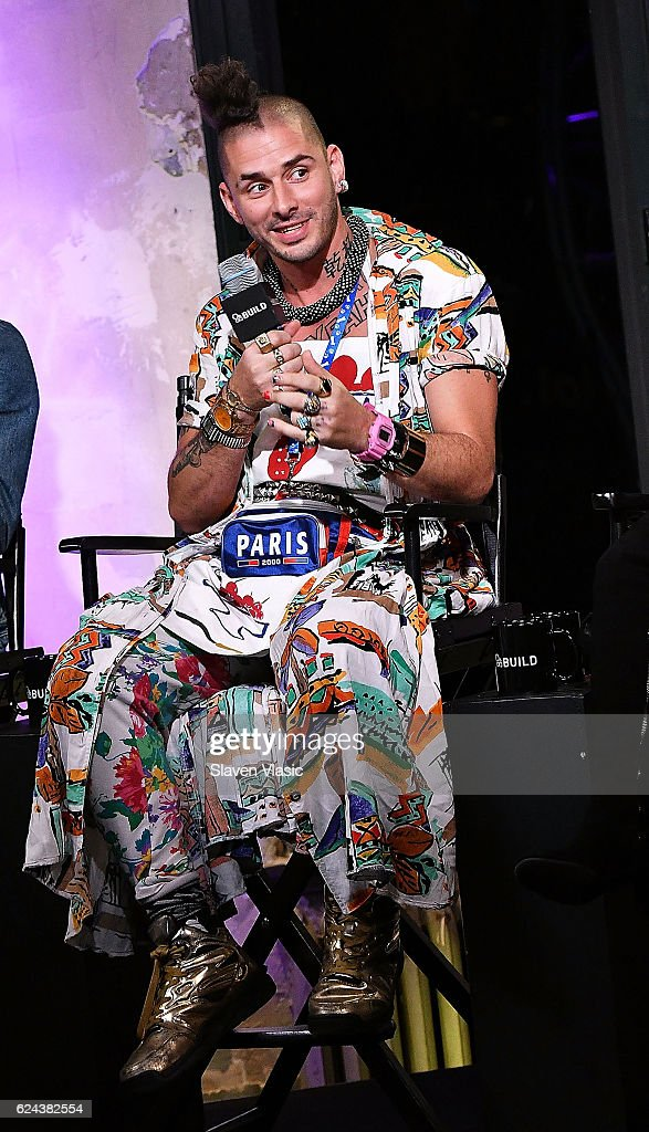 Musician Cole Whittle of 'DNCE' visits AOL BUILD at AOL HQ on November 18, 2016 in New York City.