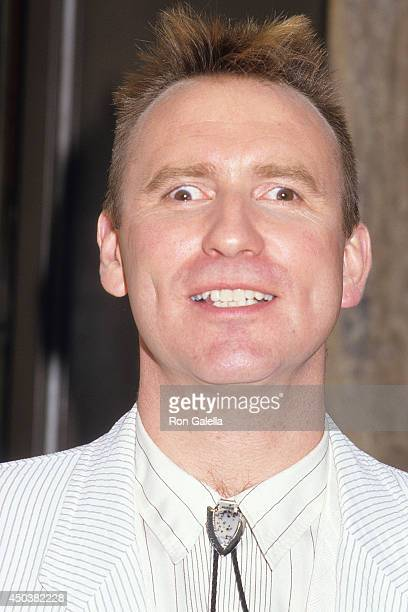 Musician Colin Hay of Men at Work attends the American Video Association's Fifth Annual American Video Awards on February 26 1987 at the Scottish...