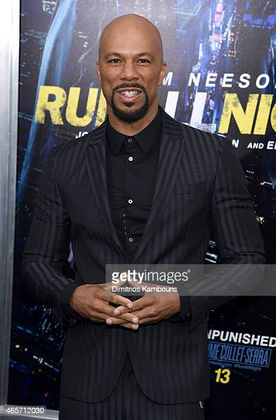 Musician Common attends the Run All Night New York Premiere at AMC Lincoln Square Theater on March 9 2015 in New York City