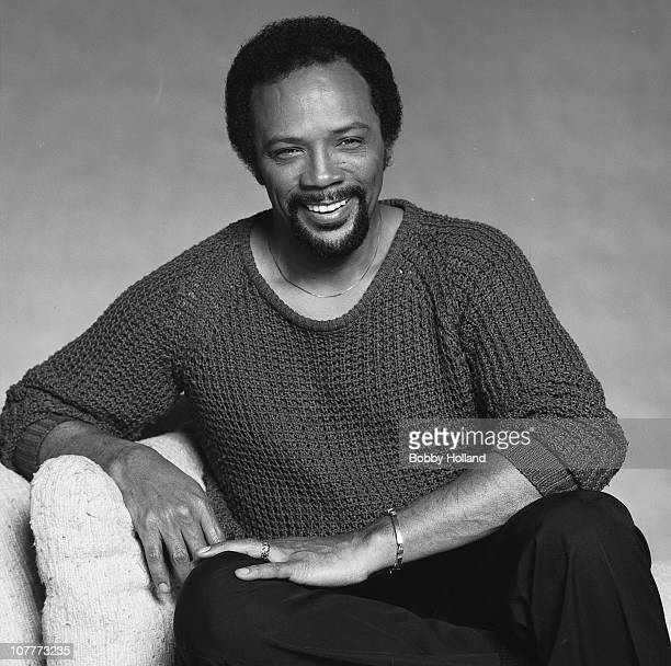 Musician composer and producer Quincy Jones poses for a portrait in 1981 in Los Angeles California