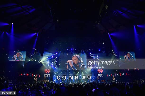 Musician Conrad Sewell performs onstage during Z100's Jingle Ball 2015 at Madison Square Garden on December 11 2015 in New York City