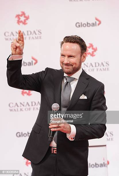 Musician Corey Hart attends the 2016 Canada's Walk Of Fame Awards at Allstream Centre on October 6 2016 in Toronto Canada