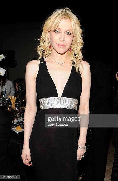 COVERAGE* Musician Courtney Love attends the 8th Annual Elton John AIDS Foundation's 'An Enduring Vision' benefit at Cipriani Wall Street on November...