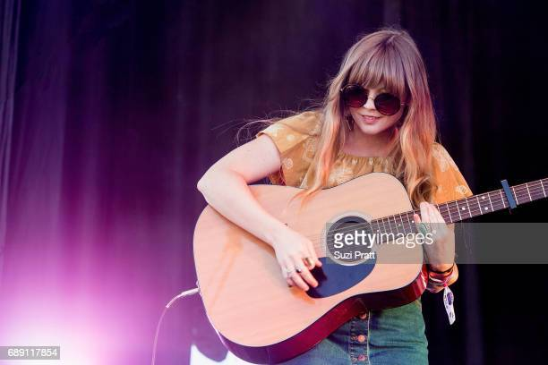 Musician Courtney Marie Andrews performs at the Sasquatch Music Festival at Gorge Amphitheatre on May 27 2017 in George Washington
