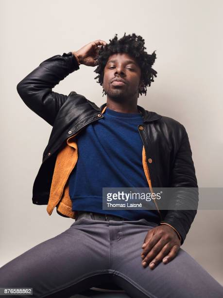 Musician Curtis Harding is photographed for Grazia Magazine on September 2017 in Paris France