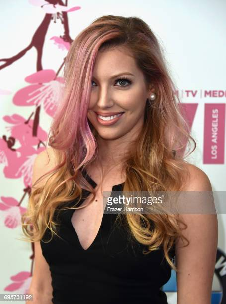 Musician Dalal Bruchmann attends the Women in Film 2017 Crystal Lucy Awards Presented by Max Mara and BMW at The Beverly Hilton Hotel on June 13 2017...