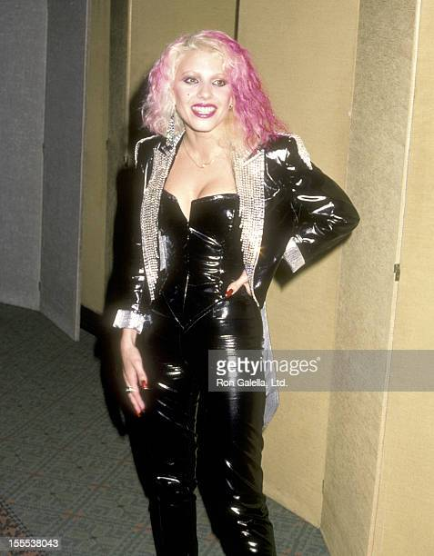 Musician Dale Bozzio attends the Second Annual American Video Awards on April 5 1984 at Wilshire Ebell Theater in Los Angeles California