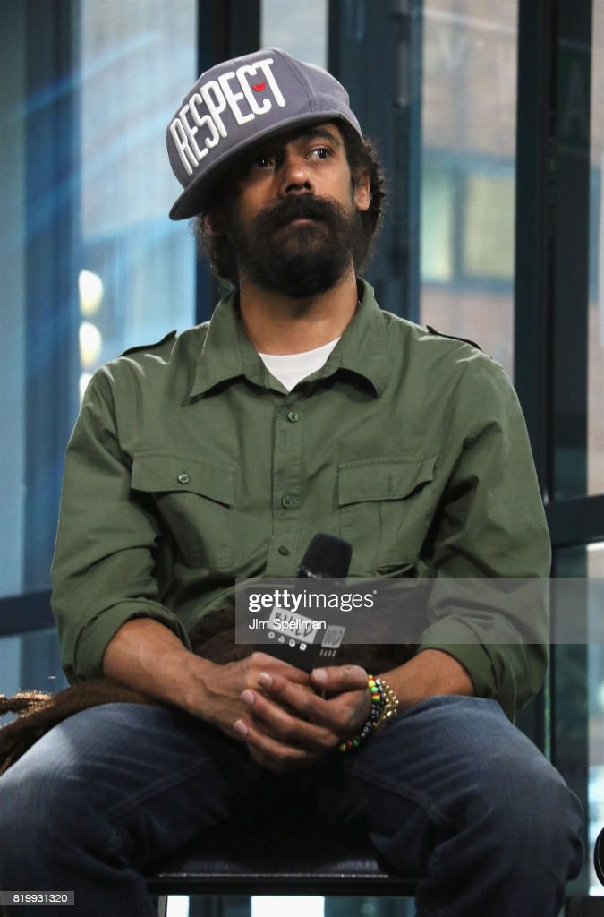 Musician Damian 'Jr. Gong' Marley attends Build discuss his new album 'Stony Hill' at Build Studio on July 20, 2017 in New York City.