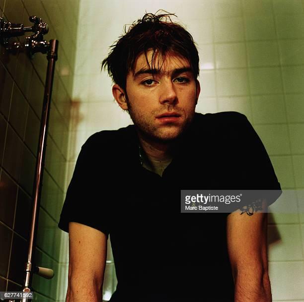 Musician Damon Albarn of Blur in April 1999