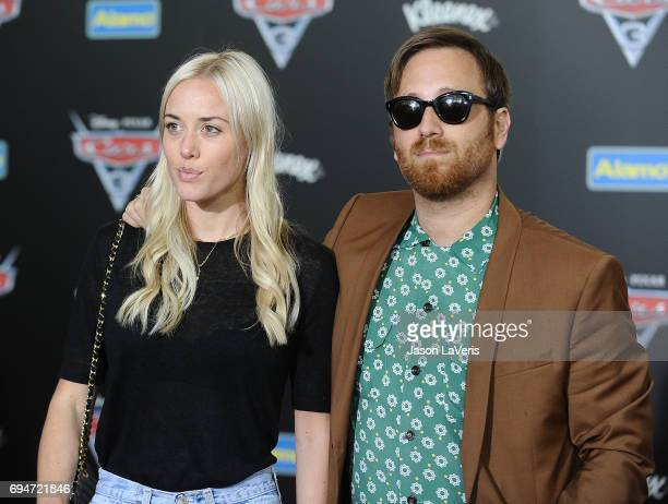 Musician Dan Auerbach of the Black Keys and wife Jen Auerbach attend the premiere of 'Cars 3' at Anaheim Convention Center on June 10 2017 in Anaheim...