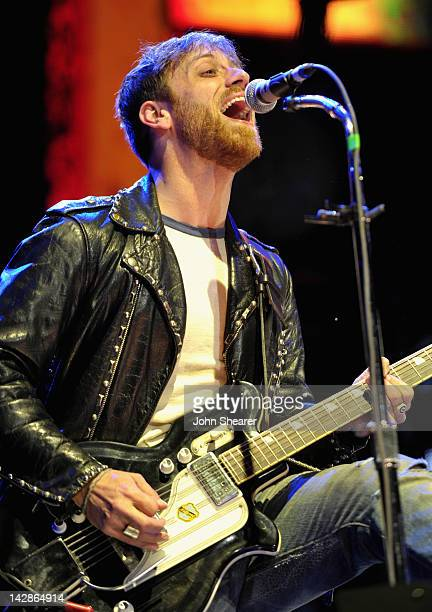 Musician Dan Auerbach of The Black Keys performs during Day 1 of the 2012 Coachella Valley Music Arts Festival held at the Empire Polo Club on April...