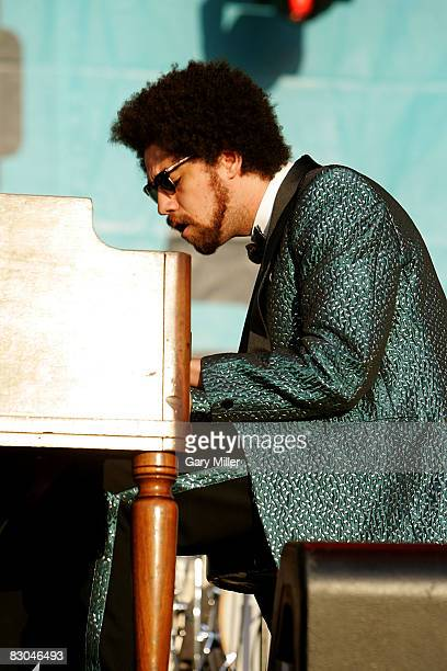 Musician Danger Mouse of Gnarls Barkley performs in Zilker Park on the closing day of the Austin City Limits Music Festival on September 28 2008 in...