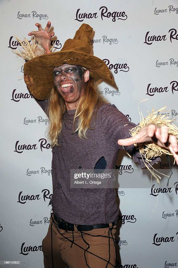 Musician Daniel Weissberg arrives for the CD Release And Halloween Costume Party For Lunar Rogue on October 26, 2013 in Beverly Hills, California.