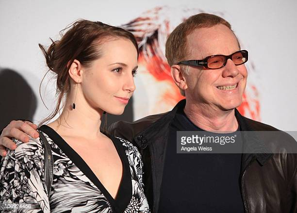 Musician Danny Elfman and daughter Molly arrive at 'The Next Three Days' Los Angeles Special Screening at Directors Guild of America on November 16...