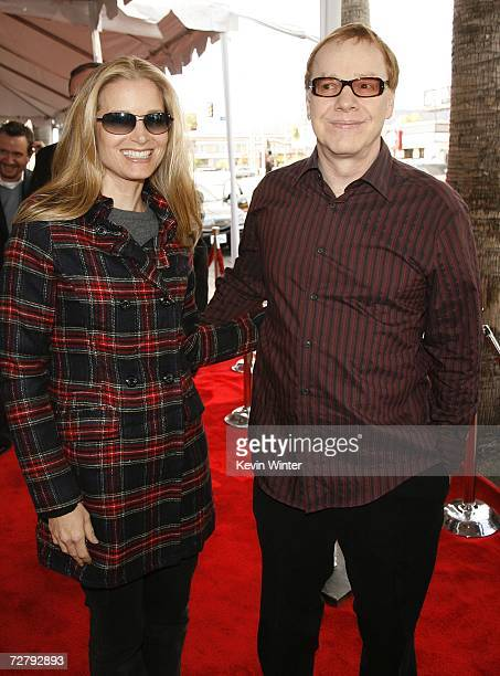Musician Danny Elfman and his wife actress Bridget Fonda arrive at the Los Angeles premiere of Paramount's Charlotte's Web at the ArcLight Theatre...