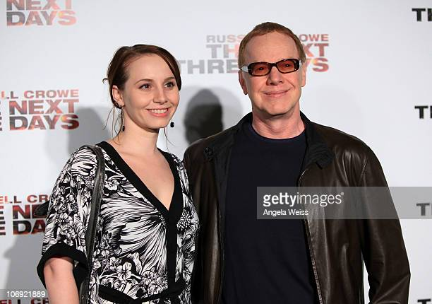 Musician Danny Elfman and Mali Elfman arrive at The Next Three Days Los Angeles Special Screening at Directors Guild of America on November 16 2010...