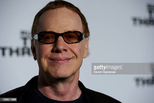 Musician Danny Elfman arrives at The Next Three Days Los Angeles Special Screening at Directors Guild of America on November 16 2010 in Los Angeles...