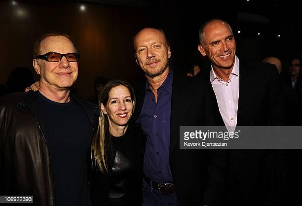 Musician Danny Elfman Lionsgate President of Motion Picture Production Alli Shearmur Writer/director Paul Haggis Lionsgate's CoChief Operating...