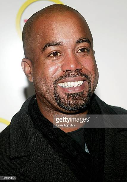 Musician Darius Rucker attends a special screening of TNT's The Goodbye Girl at Cinema 1 January 12 2004 in New York City