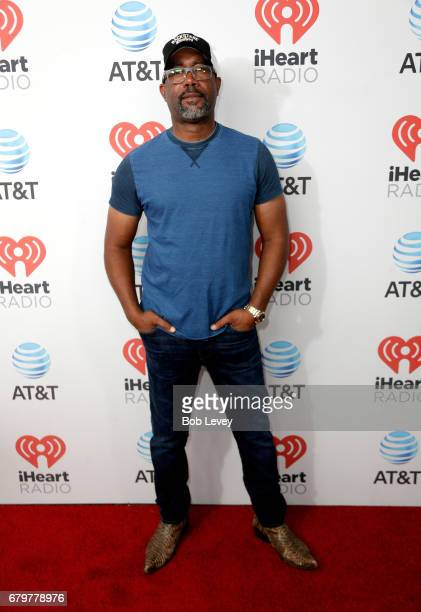 Musician Darius Rucker attends the 2017 iHeartCountry Festival A Music Experience by ATT at The Frank Erwin Center on May 6 2017 in Austin Texas