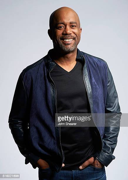 Musician Darius Rucker poses at The Life Songs of Kris Kristofferson produced by Blackbird Presents at Bridgestone Arena on March 16 2016 in...
