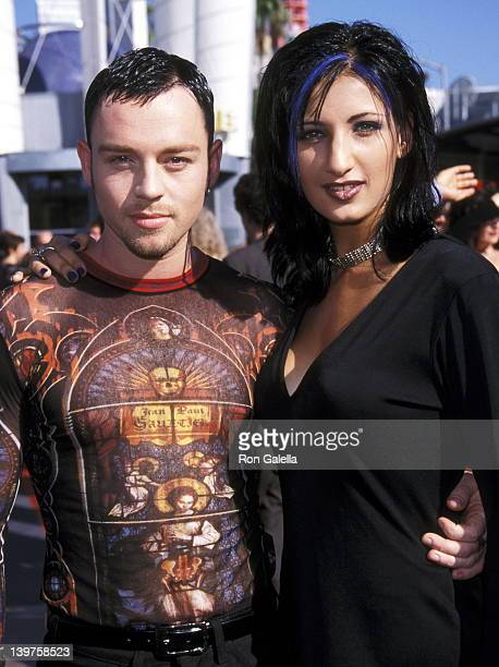 Musician Darren Hayes of Savage Garden and Colby Taylor attend 15th Annual MTV Video Music Awards on September 10, 1998 at the Universal Ampitheater...