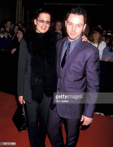 Musician Darren Hayes of Savage Garden and Colby Taylor attend Nineth Annual Billboard Music Awards Pre-Party on December 6, 1998 at the MGM Grand...