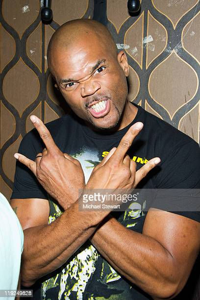 Musician Darryl 'D.M.C.' McDaniels attends a concert at Europa on July 14, 2011 in New York City.