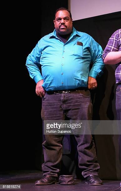 Musician Daryl Davis speaks onstage at he premiere of Accidental Courtesy Daryl Davis Race America during the 2016 SXSW Music Film Interactive...