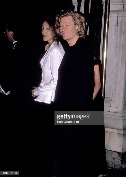 Musician Daryl Hall of Hall and Oates and guest attend the 'Wedding of Mariah Carey and Tommy Mottola' on June 5 1993 at St Thomas Episcopal Church...