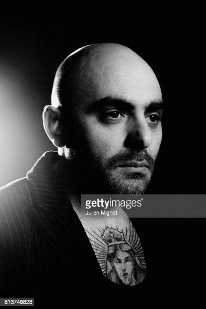 Musician Dasilva is photographed for Self Assignment on November 6 2016 in Paris France
