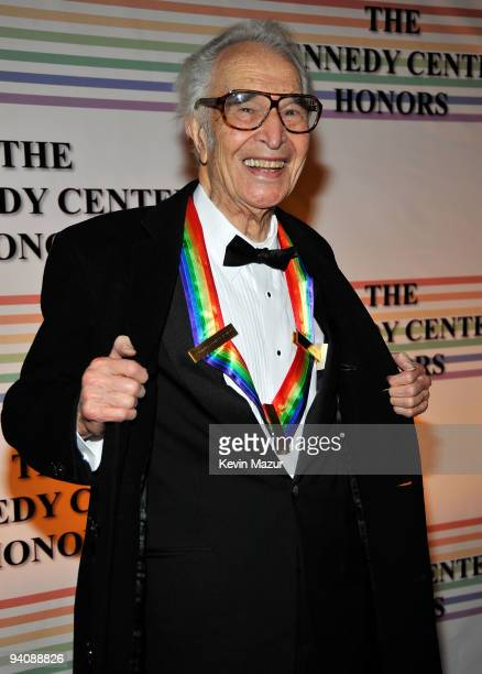 Musician Dave Brubeck recipient of the Kennedy Center Honors attends the 32nd Kennedy Center Honors at Kennedy Center Hall of States on December 6...