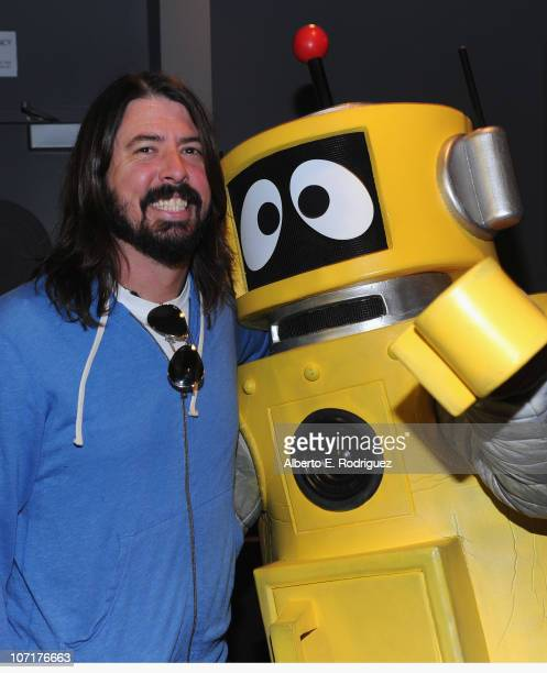 Musician Dave Groh lattends Yo Gabba Gabba Live There's A Party In My City at Nokia LA Live on November 27 2010 in Los Angeles California