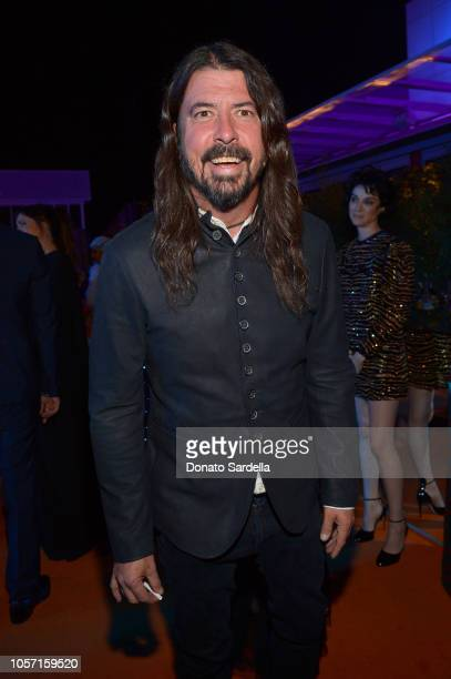 Musician Dave Grohl attends 2018 LACMA Art Film Gala honoring Catherine Opie and Guillermo del Toro presented by Gucci at LACMA on November 3 2018 in...