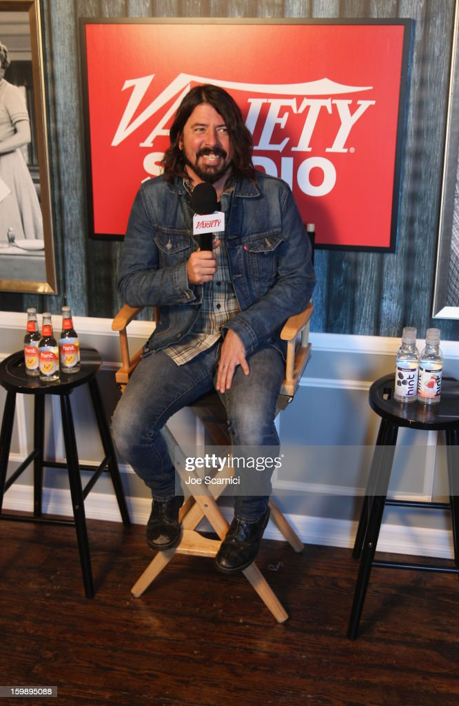 Musician Dave Grohl attends Day 4 of the Variety Studio at 2013 Sundance Film Festival on January 22, 2013 in Park City, Utah.