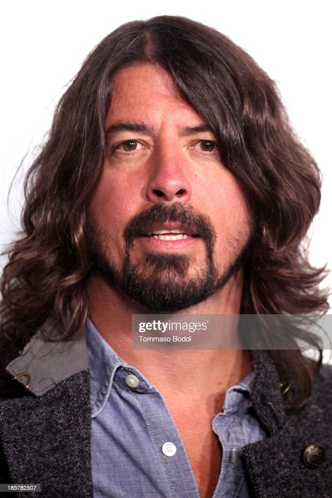 Musician Dave Grohl attends the Autism Speaks 3rd annual 'Blue Jean Ball' held at Boulevard3 on October 24, 2013 in Hollywood, California.