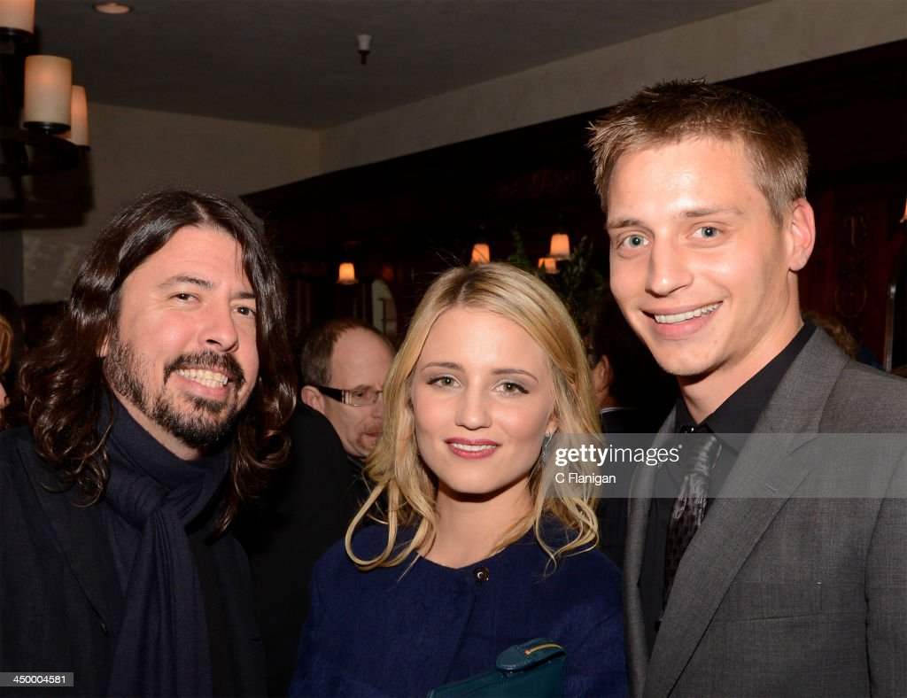 Musician Dave Grohl of The Foo Fighters, Actress Dianna Agron and Jason Agron attend The Hollywood Reporter After Party at the Napa Valley Film Festival Celebrity Tribute on November 15, 2013 in Napa, California.