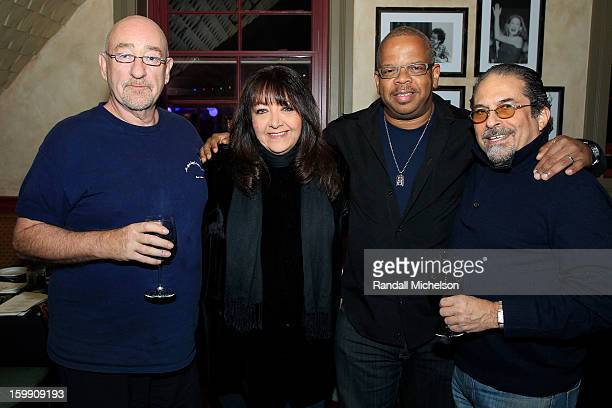 Musician Dave Mason BMI Executive Doreen RingerRoss Composer Terence Blanchard and Manager Bruce Garfield attend the BMI Sundance Dinner at Zoom...