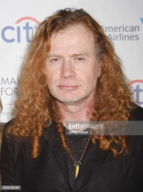 Musician Dave Mustaine arrives at the Universal Music Group's 2017 GRAMMY After Party at The Theatre at Ace Hotel on February 12 2017 in Los Angeles...