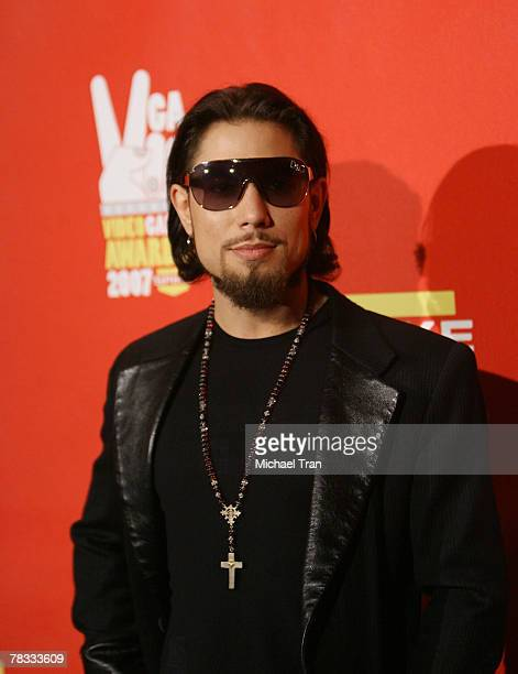 Musician Dave Navarro arrives at Spike TV's 5th Annual Video Game Awards held at Mandalay Bay Events Center on December 7 2007 in Las Vegas Nevada