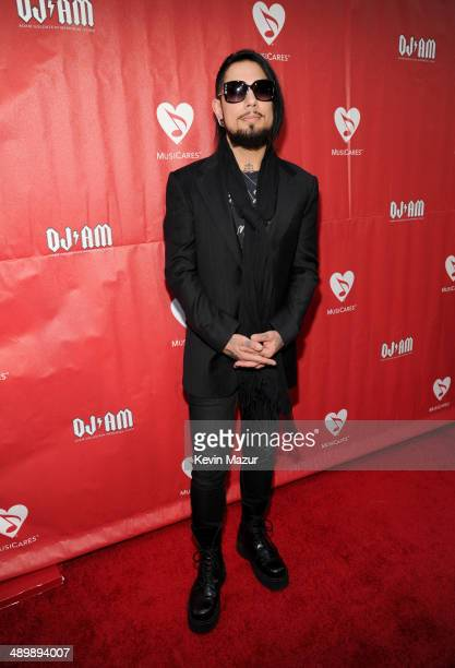 Musician Dave Navarro attends the 10th annual MusiCares MAP Fund Benefit Concert to raise funds for MusiCares' addiction recovery resources at Club...