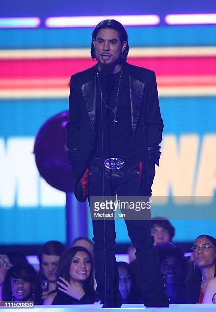 Musician Dave Navarro speaks at Spike TV's 2007 'Video Game Awards' at the Mandalay Bay Events Center on December 7 2007 in Las Vegas Nevada