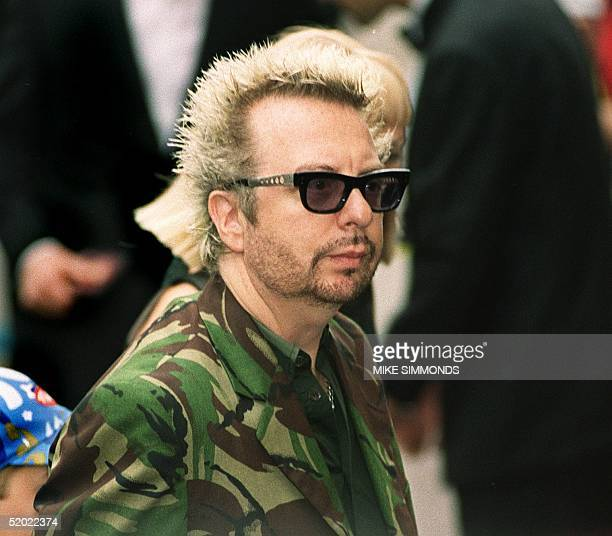 Musician Dave Stewart arrives for the premier of the new Star Wars movie The Phantom Menace in London's Leicester square 14 July 1999 The event was...