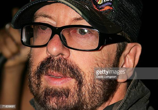 Musician Dave Stewart attends the recording session for a new song honoring the 35th anniversary of Greenpeace's founding at SIR on September 9 2006...