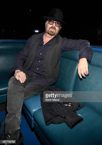 Musician Dave Stewart attends the Rolling Stones performance at Echoplex on April 27 2013 in Los Angeles California The Rolling Stones played a...