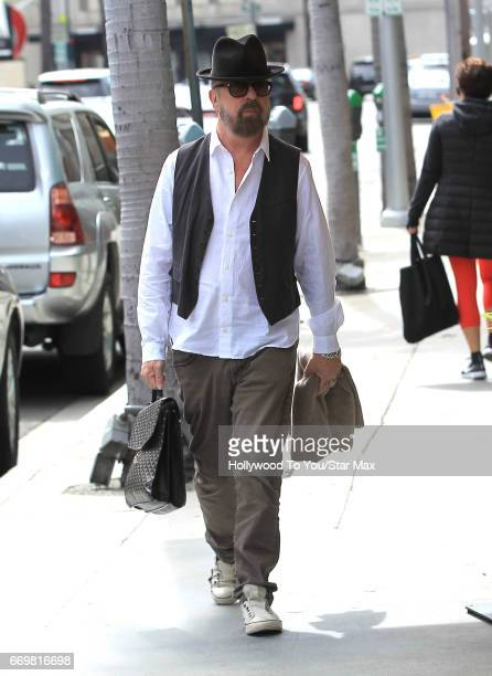 Musician Dave Stewart is seen on April 17 2017 in Los Angeles CA