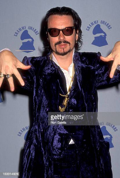 Musician Dave Stewart of Eurythmics attends the 32nd Annual Grammy Awards on February 21 1990 at Shrine Auditorium in Los Angeles California