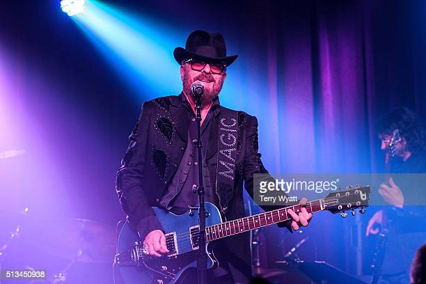 Musician Dave Stewart performs at The Basement East on March 2 2016 in Nashville Tennessee