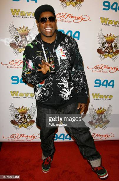 Musician David Banner attends the Ed Hardy store opening at the Beverly Center on December 1 2007 in Los Angeles California